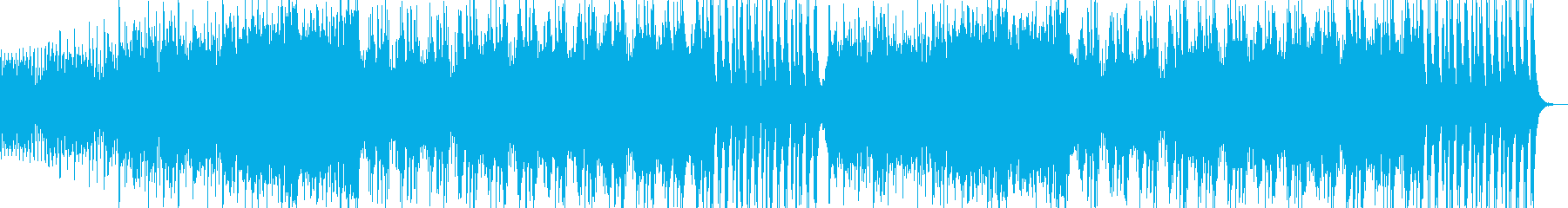 緊迫感溢れる壮大な楽曲の再生済みの波形