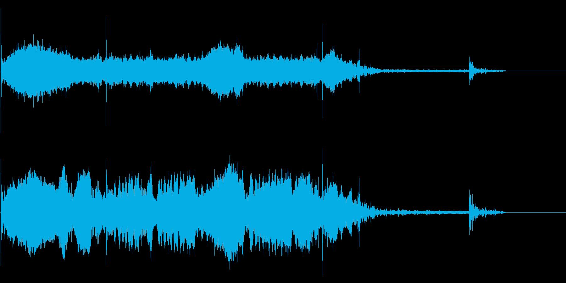 サーボ;フォークリフト、上/下回転...の再生済みの波形