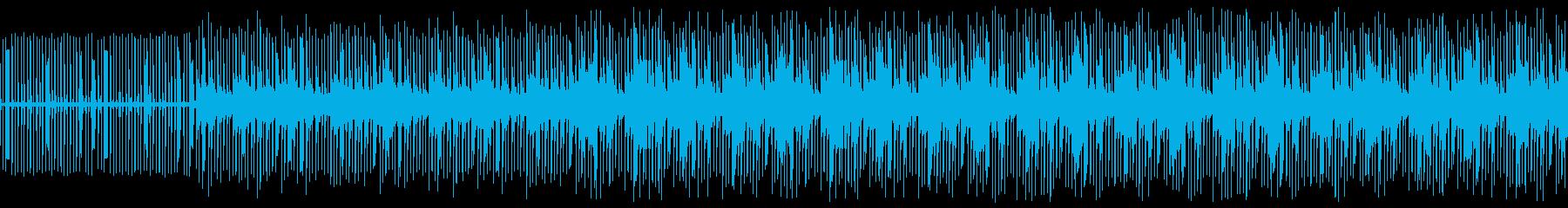 会話シーンで使えるLo-Fiビートの再生済みの波形