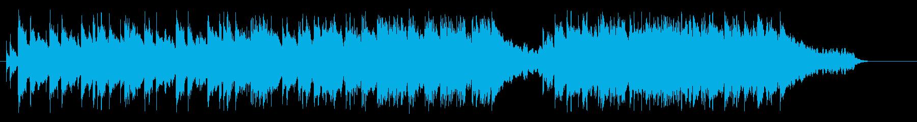 おだやかな展開のポップ・バラードの再生済みの波形