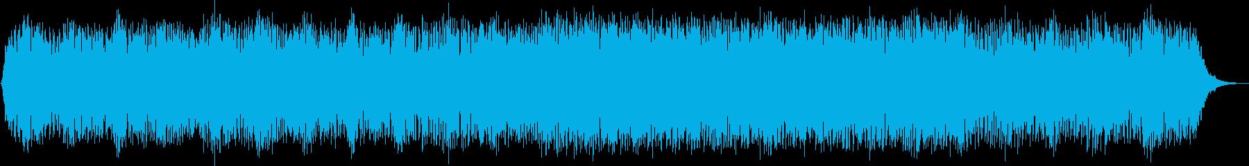 癒しの効果が期待できる曲です。の再生済みの波形