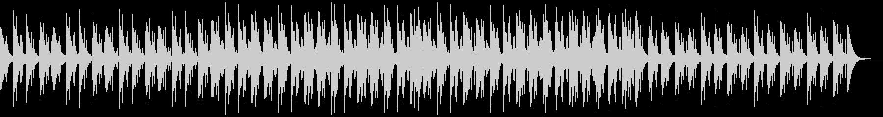 チャイナシティ感のあるシンセサイザー曲の未再生の波形