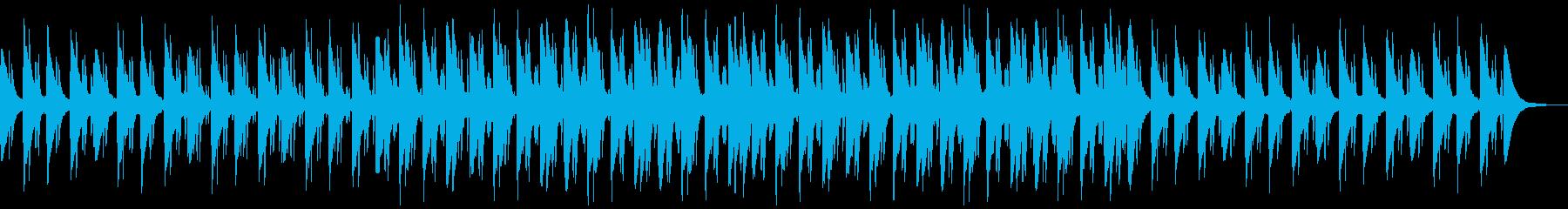 チャイナシティ感のあるシンセサイザー曲の再生済みの波形