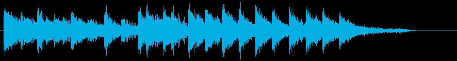 Xmasに♪世界に告げよピアノジングルAの再生済みの波形