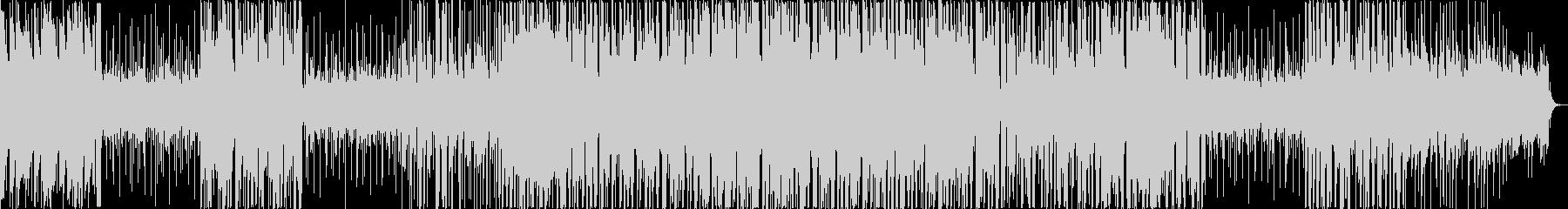 シリアスな雰囲気がサスペンスに合うの未再生の波形