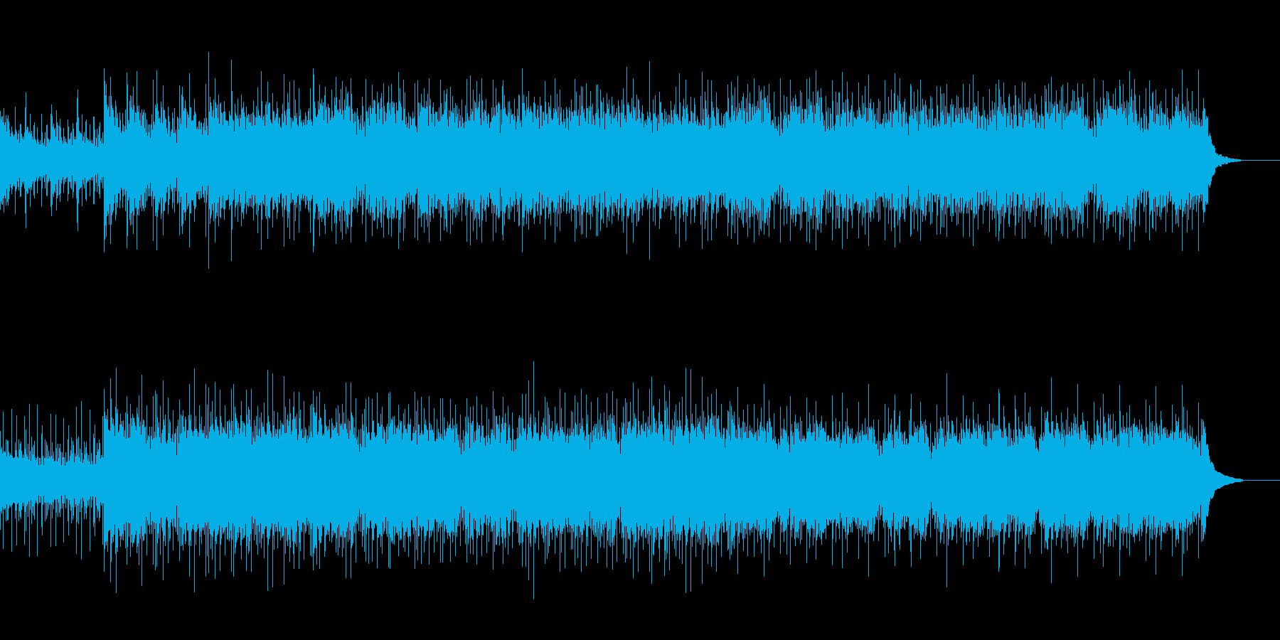 【ギター】ニュース・天気予報・企業VP用の再生済みの波形