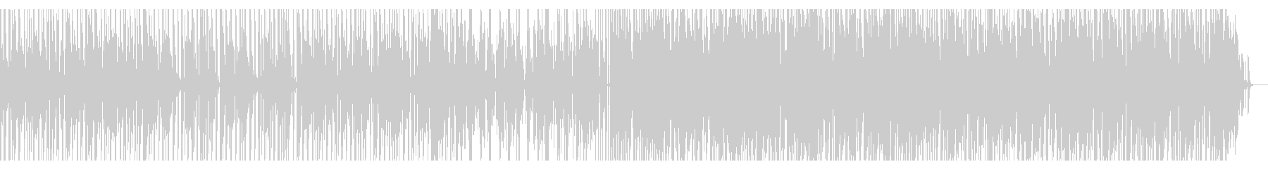 【短いVer3】70年代ファンクロック風の未再生の波形