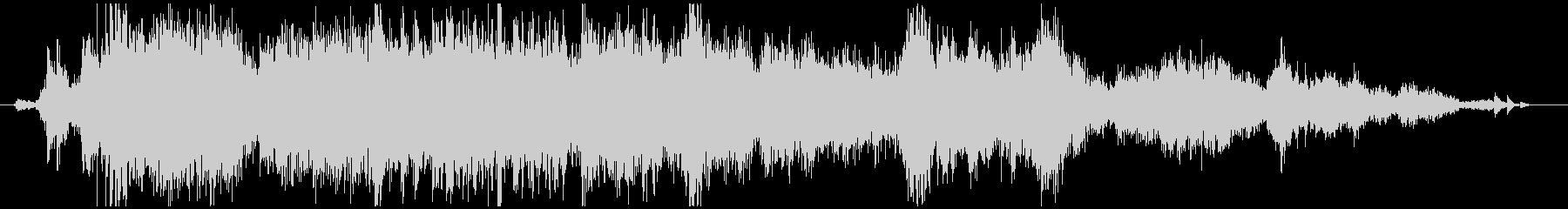 メタル ラウドミディアム04の未再生の波形