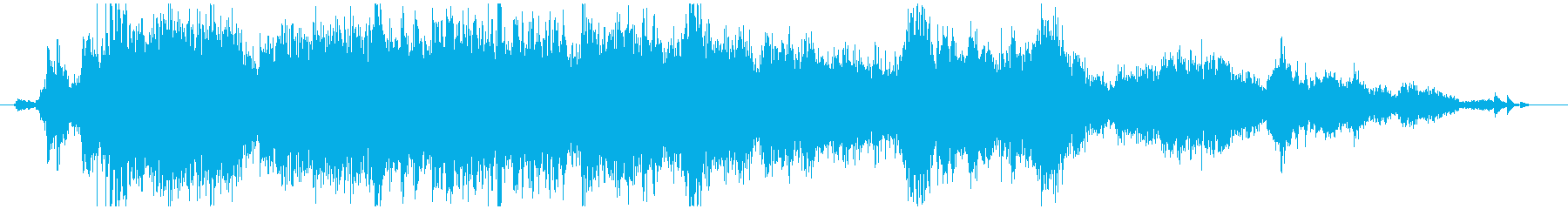 メタル ラウドミディアム04の再生済みの波形