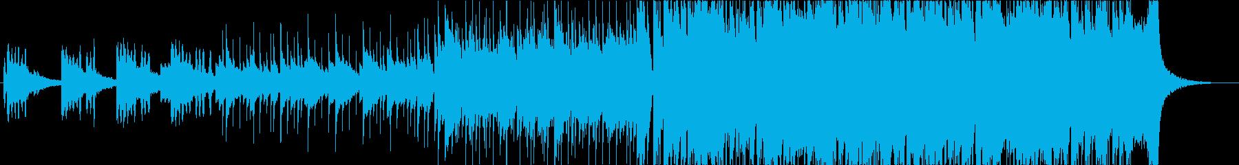 おしゃれインストピアノロック ショートの再生済みの波形