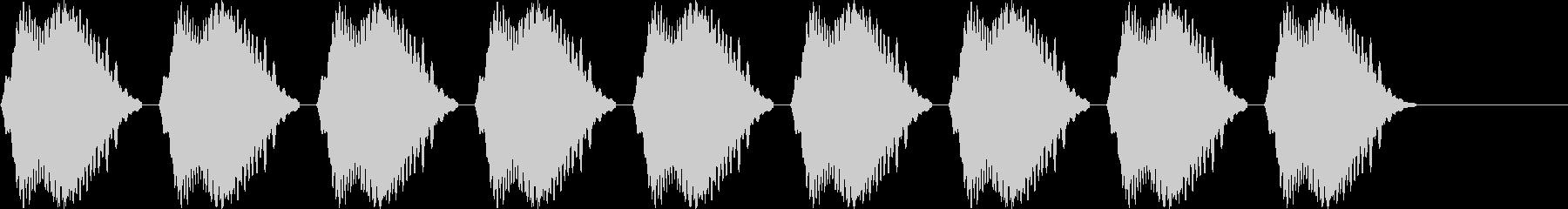 ヴヴヴヴヴヴ(携帯・スマホのバイブ音)の未再生の波形