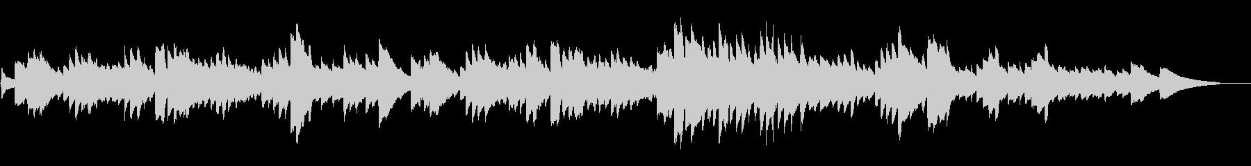 ショパン「別れの曲」オルゴール風の未再生の波形