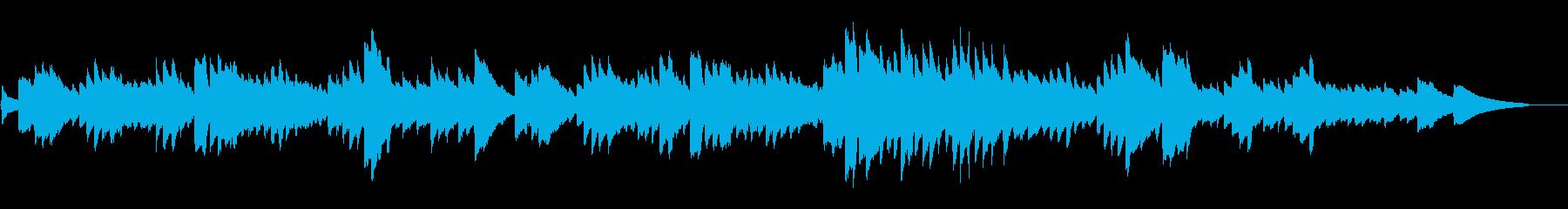 ショパン「別れの曲」オルゴール風の再生済みの波形