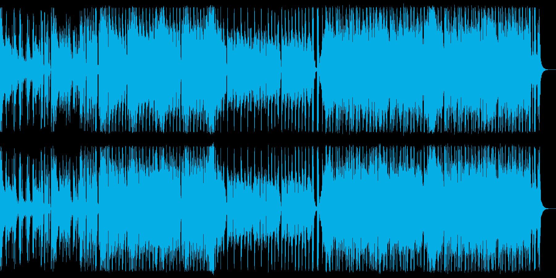おしゃれ/J-pop_No590_3の再生済みの波形