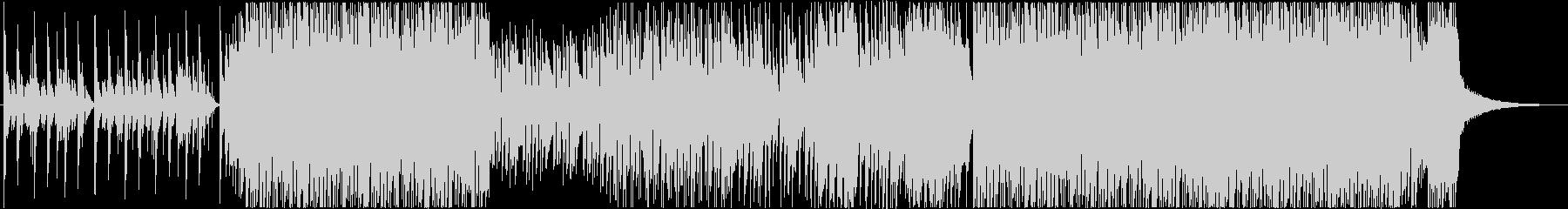 サンバ調のかわいいアコースティックBGMの未再生の波形