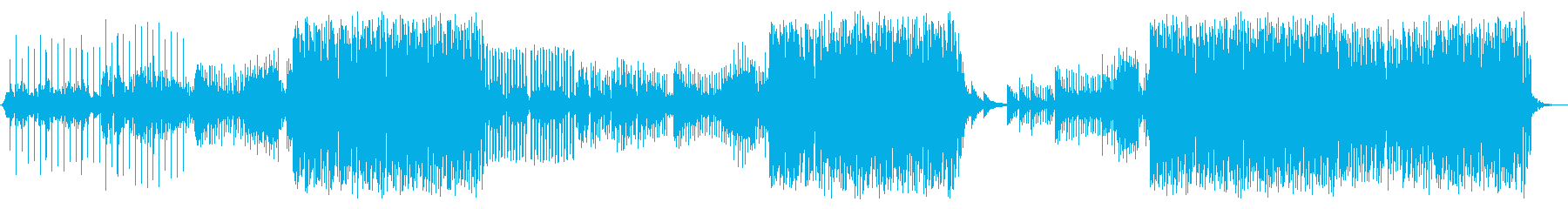 夏 海 ハウス 声ネタ無し版の再生済みの波形