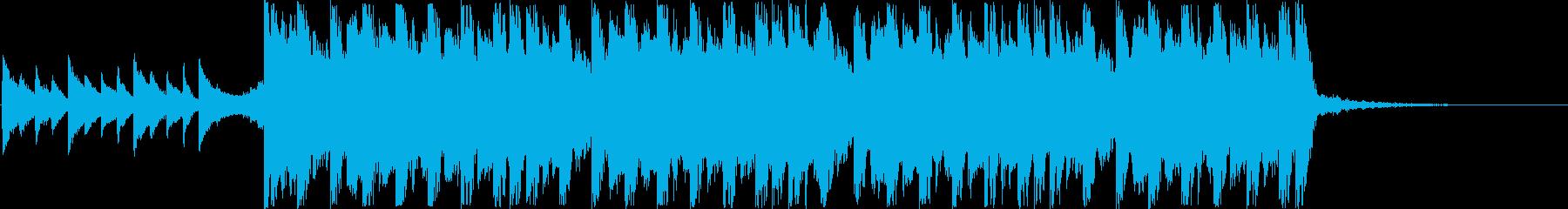 切ないクリスマスのデジタルJ-POPの再生済みの波形