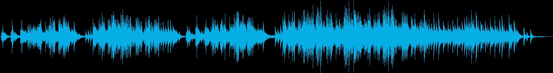 切な過ぎる感動のピアノ&ストリングスの再生済みの波形