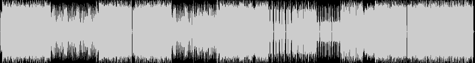 スローテンポの怒りのデジタルロックの未再生の波形