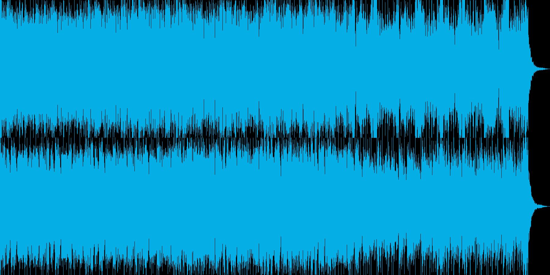 シリアスなシーンにの再生済みの波形