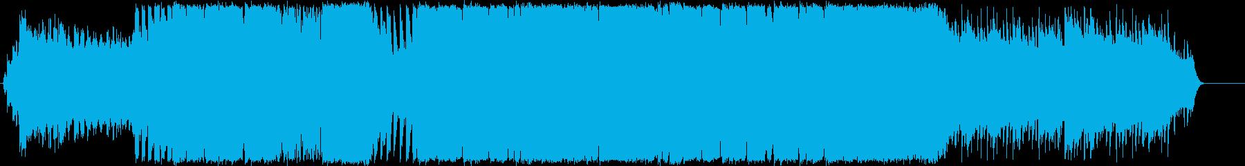 ハッピーバースデー、Houseアレンジの再生済みの波形