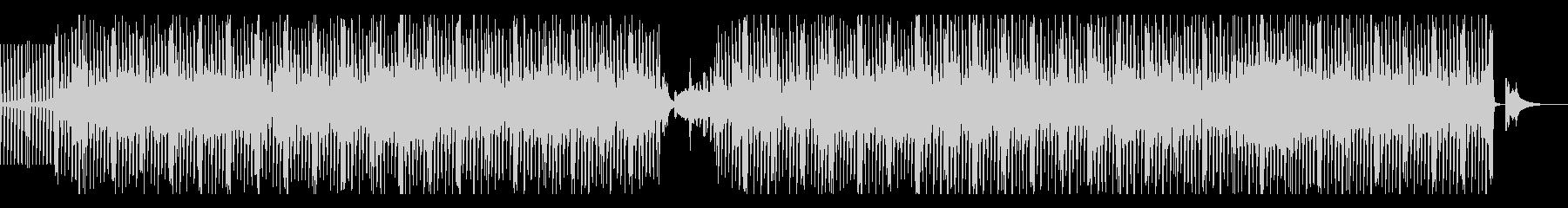 淡々とした和楽器中心のEDMの未再生の波形