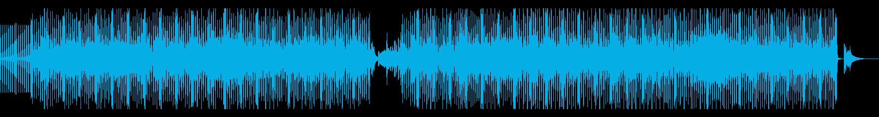淡々とした和楽器中心のEDMの再生済みの波形