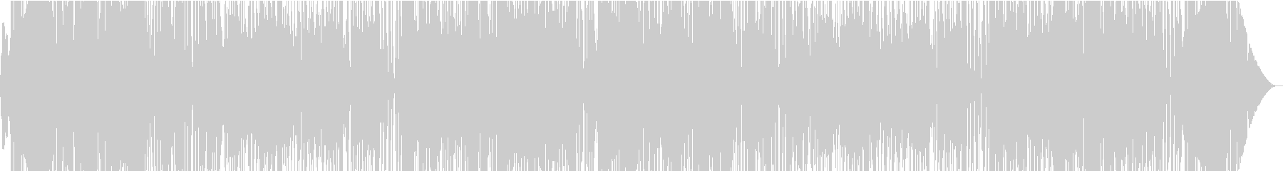 幻想的でシャビーシックなボサノバの未再生の波形
