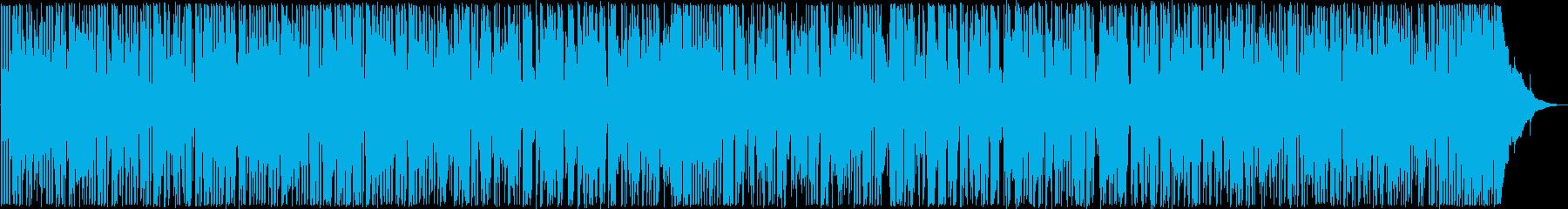 わくわく感のあるギターサウンドの再生済みの波形