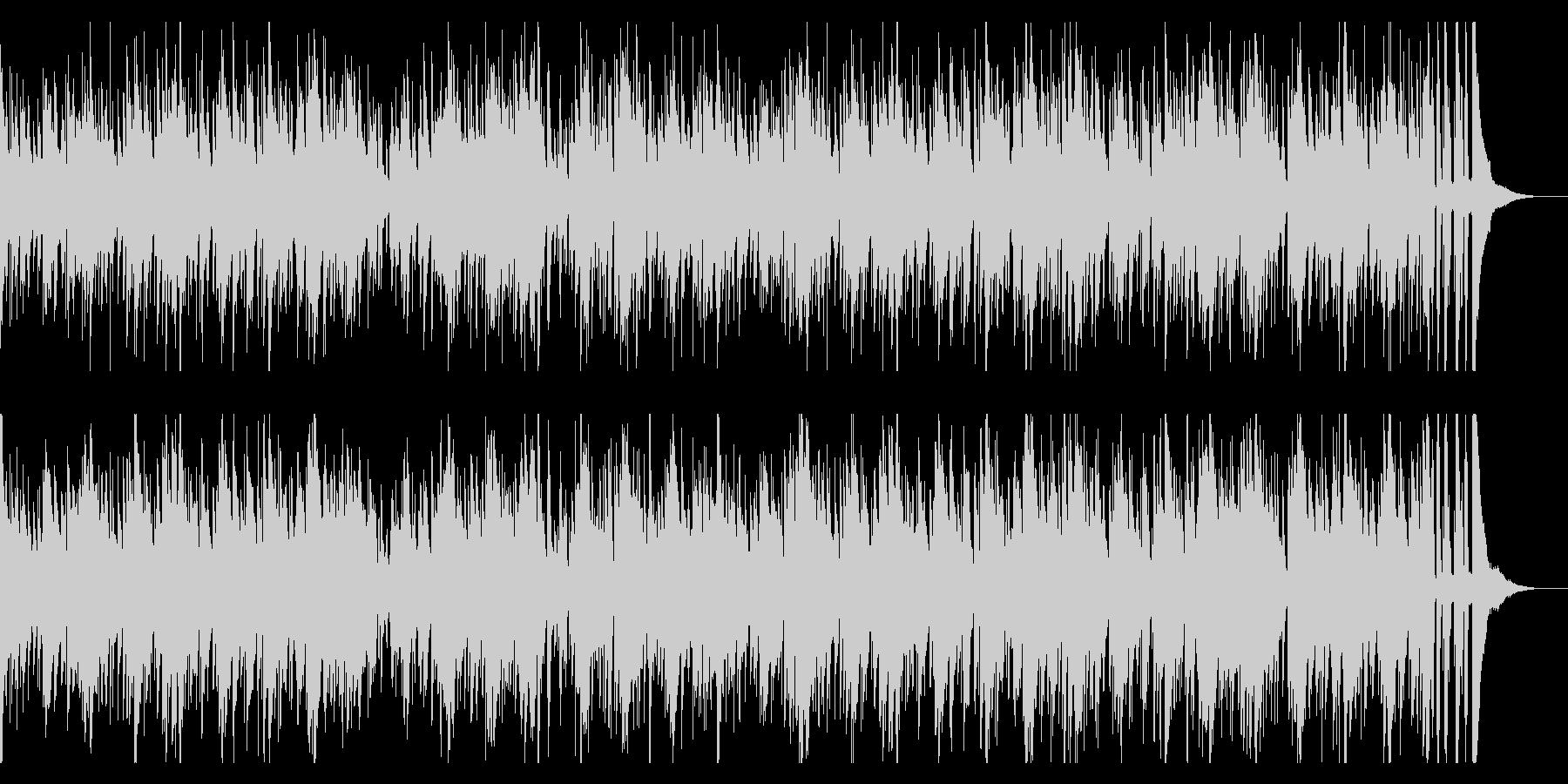 お洒落なジャズピアノトリオ18 明るいの未再生の波形