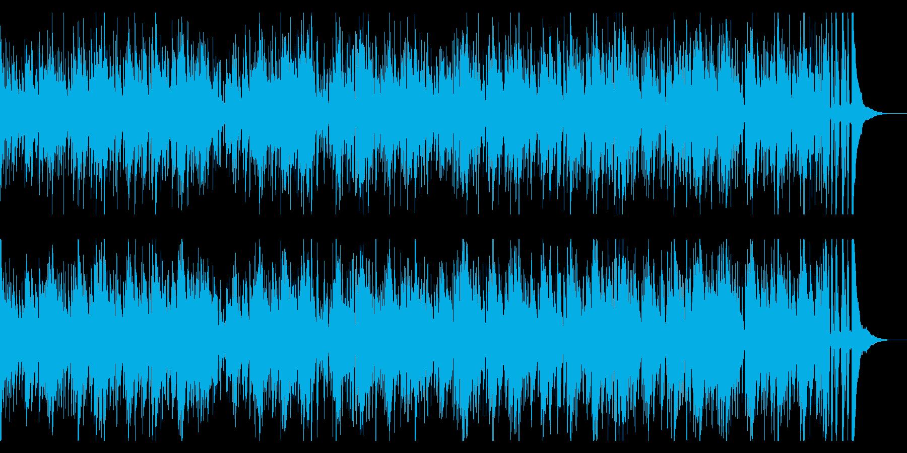 お洒落なジャズピアノトリオ18 明るいの再生済みの波形