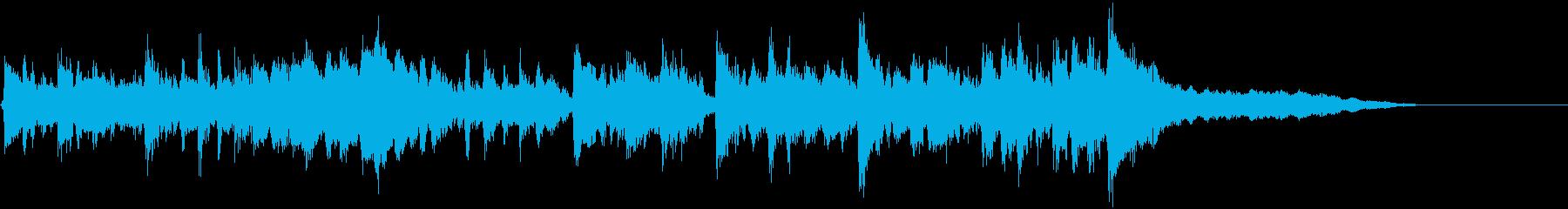 ジングル20秒フォークダンスポルカ民族的の再生済みの波形