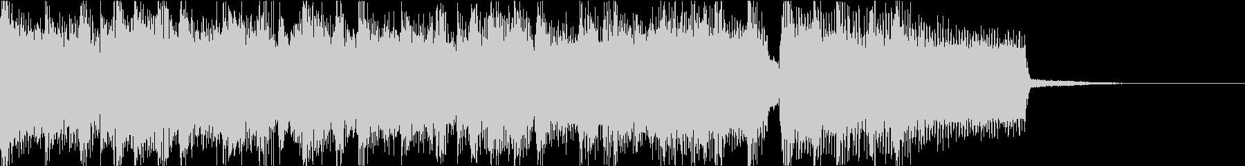 激しいゴリゴリロック♪バトル♪ジングル4の未再生の波形