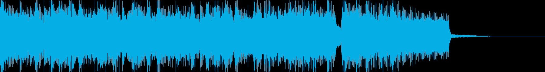 激しいゴリゴリロック♪バトル♪ジングル4の再生済みの波形