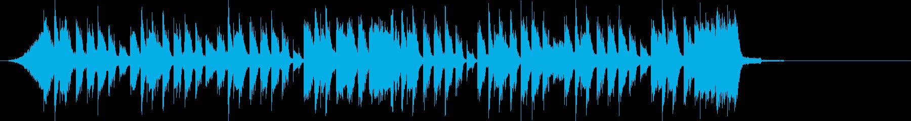 元気キッズ ピコピコキャッチー でコミカの再生済みの波形