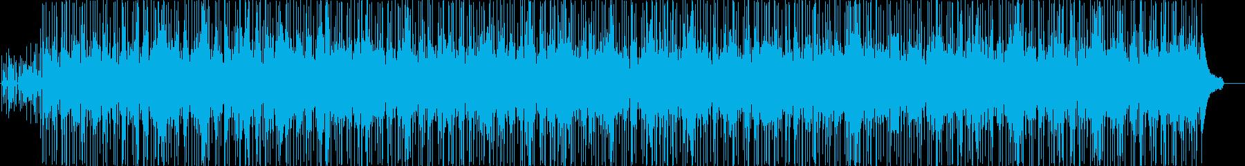 哀愁ラテンの再生済みの波形