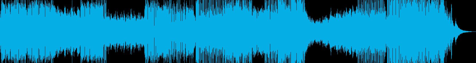 癒し系RPG・後半から打楽器有 短尺の再生済みの波形