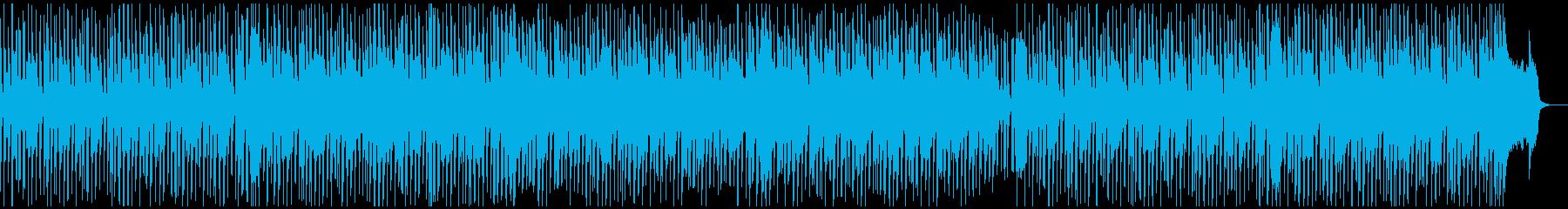 スキップしたくなる楽しいポップソングの再生済みの波形