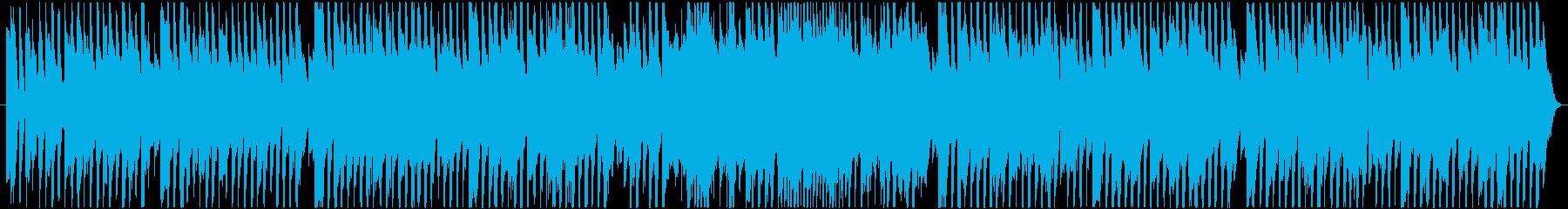 可愛く、楽しい雰囲気のポップスBGMの再生済みの波形