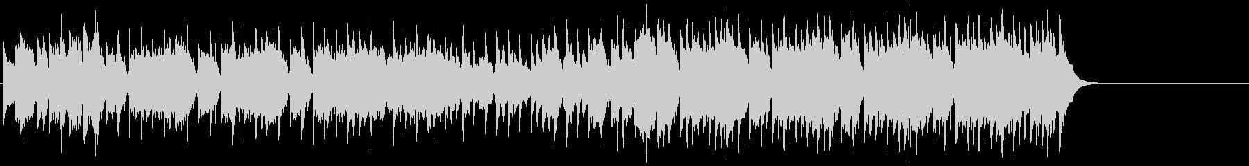 充実したゆったりポップ(イントロ~A…)の未再生の波形
