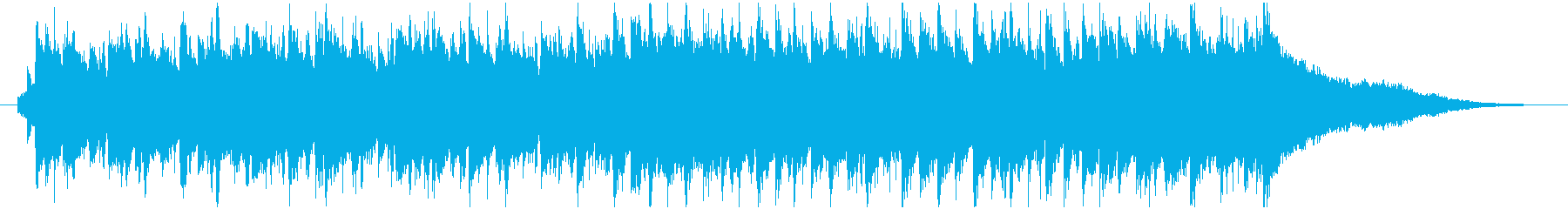 ポップ ロック、ジングルベル クリスマスの再生済みの波形