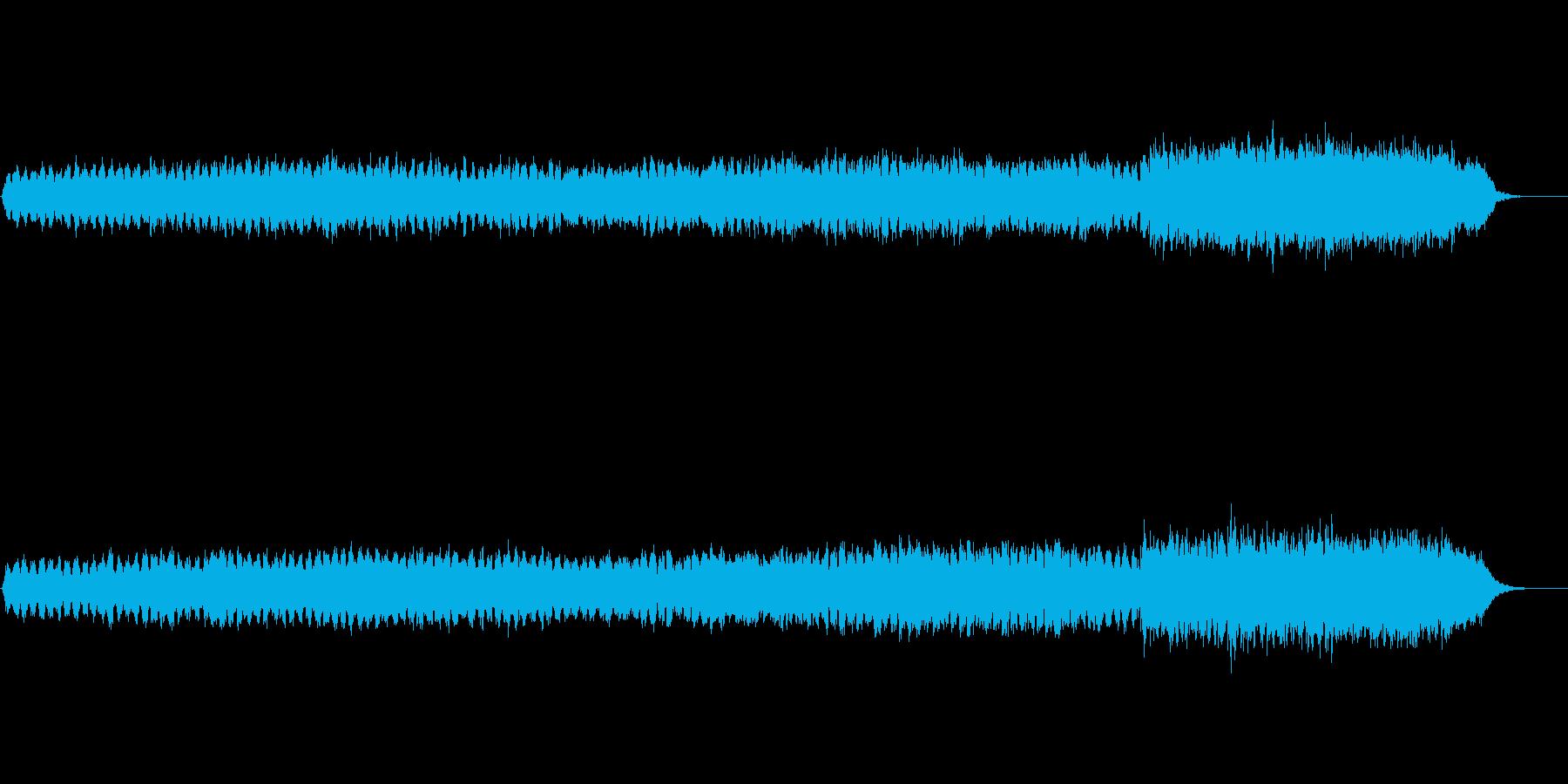 美しく悲しげなストリングスの再生済みの波形
