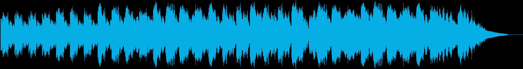 エンディング用などにの再生済みの波形