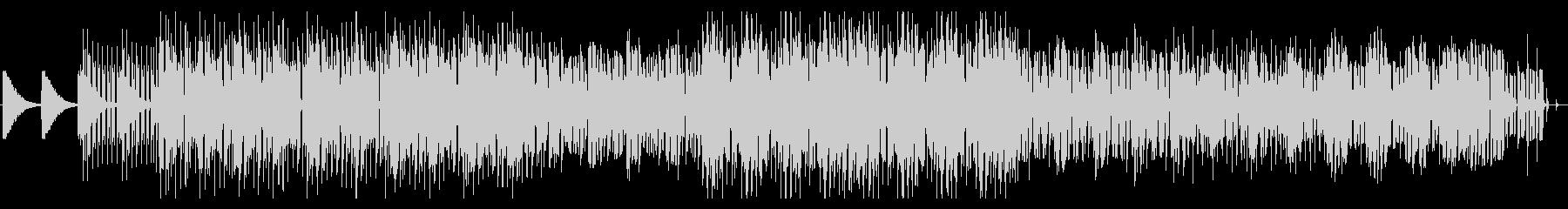 ピアノとボコーダーが印象的なEDMの未再生の波形