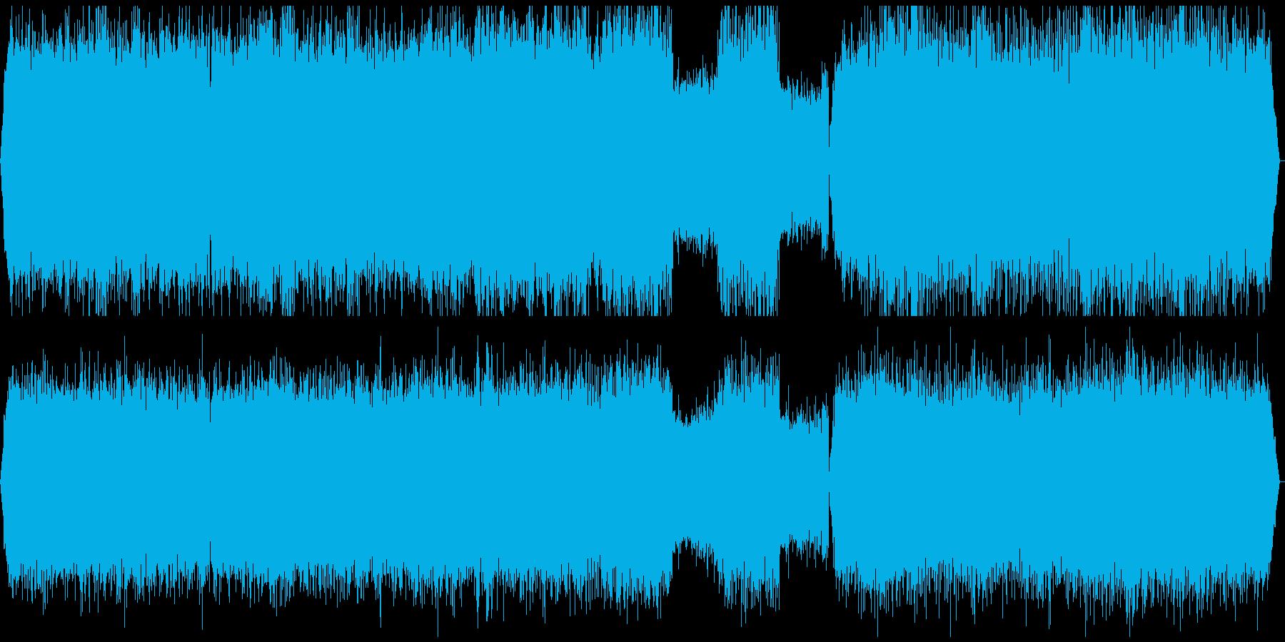 北海道の音景色・豊かな自然・ゲロゲロ・蛙の再生済みの波形
