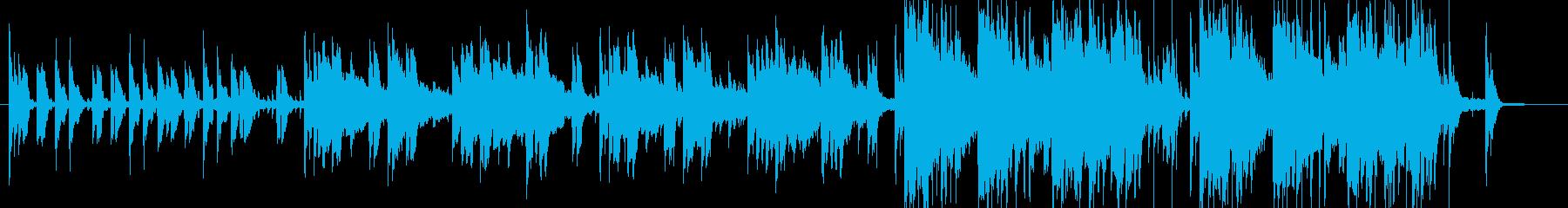 ポップ テクノ アンビエント 民謡...の再生済みの波形