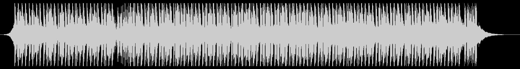 ダンスミュージック(ショート1)の未再生の波形