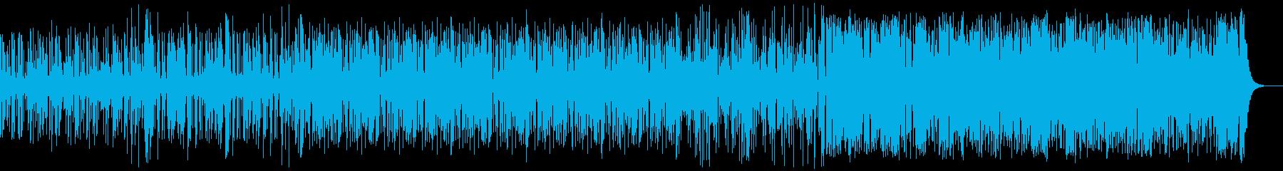 ファンキーでグルービングなインスト...の再生済みの波形