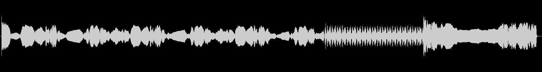 パトカー:サイレン、泣き叫ぶの未再生の波形
