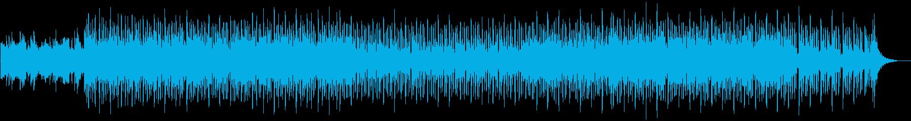 都会的で大人っぽくスタイリッシュなBGMの再生済みの波形